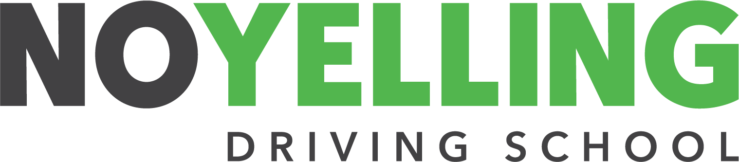 No Yelling Driving School Logo